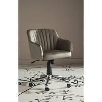 Safavieh Office Grey Hilda Desk Chair
