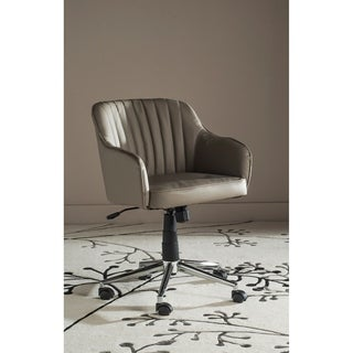 Safavieh Office Grey Hilda Desk Chair