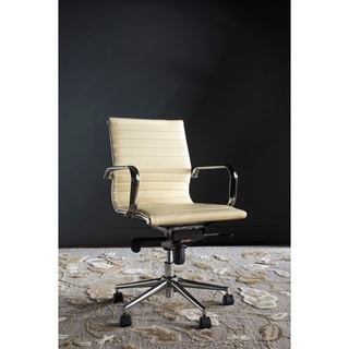 Safavieh Office White Loreley Desk Chair