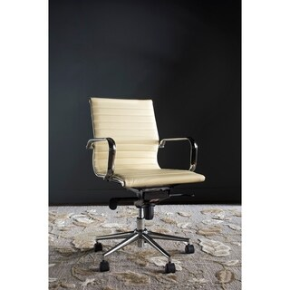 Safavieh Office White Loreley Desk Chair