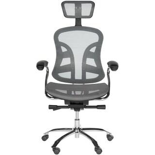 Safavieh Office Grey Jarlan Desk Chair