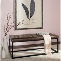 Safavieh Reynolds Brown/ Black Bench