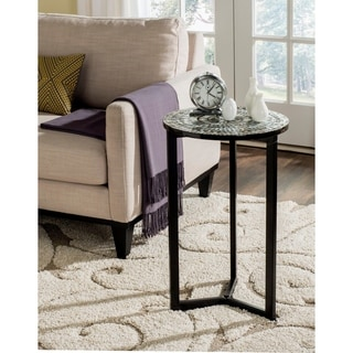 "Safavieh Zaira Grey End Table - 16.1"" x 16.1"" x 26"""