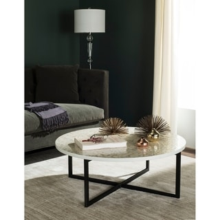 Safavieh Cheyenne Cream Coffee Table