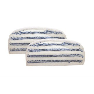 2pk Replacement Steam Mop Pads, Fits Bissell Steam & Sweep Series 46B4, Washable, Compatible with Part 75F5 & 203-2200