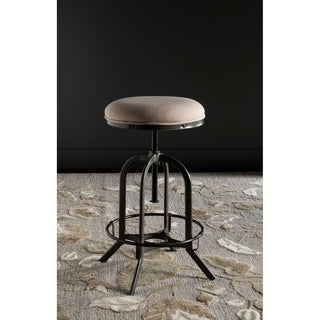 Safavieh Wildomar 25-35 Inch Adjustable Beige Stool