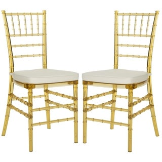 Safavieh Country Classic Dining Carly Amber Side Chairs (Set of 2)