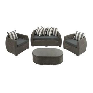 Pod Wicker 4-piece Sofa Set