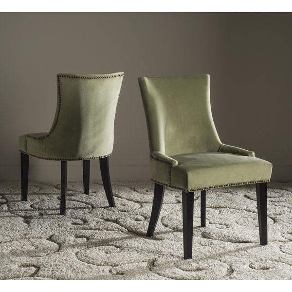 Safavieh Lester Mint Dining Chair Set Of 2 Free Shipping Today 17462466
