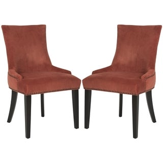 Safavieh En Vogue Dining Lester Rust Dining Chairs (Set of 2)