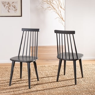 Safavieh Country Classic Dining Burris Grey Side Chairs (Set of 2)