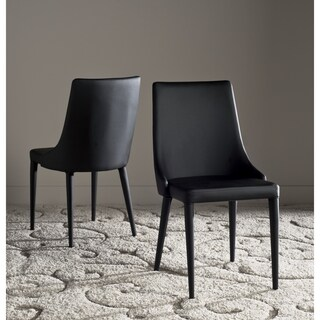 Safavieh Mid-Century Dining Summerset Modern Black Dining Chairs (Set of 2)