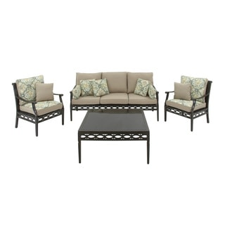 Aluminum 4-piece Sofa Set