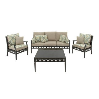 Aluminum 4-piece Sofa Set