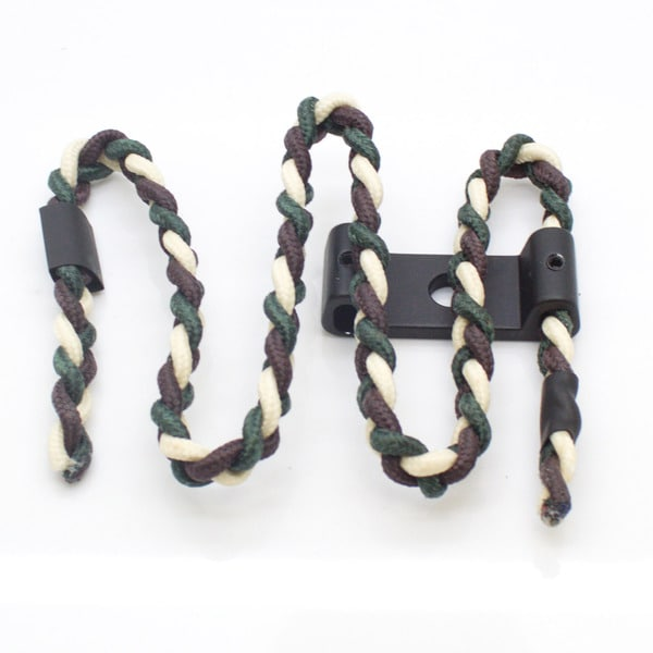 SAS Archery Bow Wrist Sling with Aluminum Mount