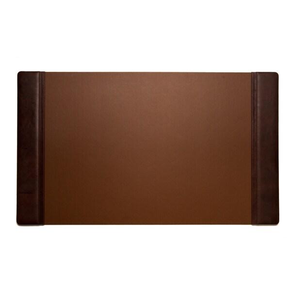 Bey Berk Tan Leather Desk Pad