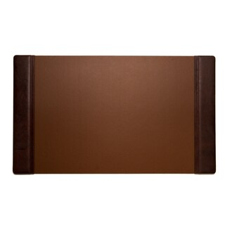 Bey Berk Tan Leather Desk Pad