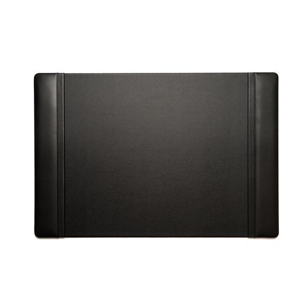 Bey Berk Black Leather Desk Pad