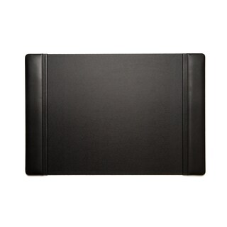 Bey Berk Black Leather Desk Pad