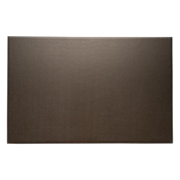 Bey Berk Brown Leather Desk Pad