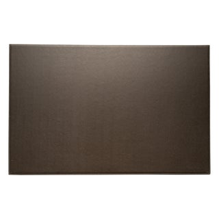 Bey Berk Brown Leather Desk Pad