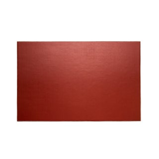Red Leather Desk Pad