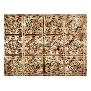 Fasade Traditional Style #1 Bermuda Bronze 18-square Foot Backsplash Kit