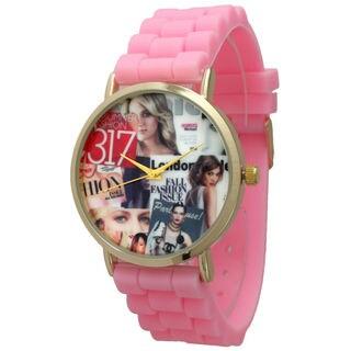 Olivia Pratt Women's Fashionista Silicone Watch