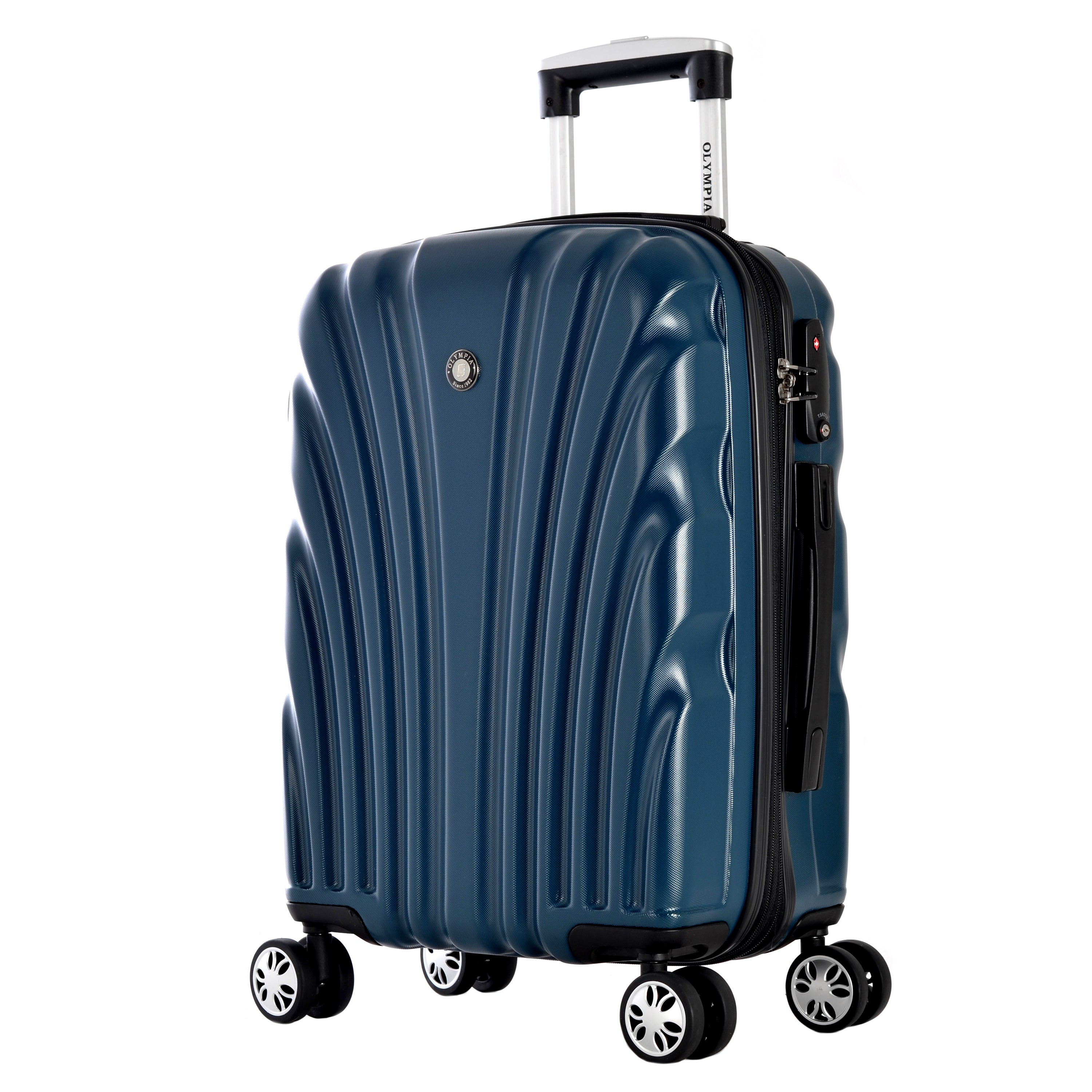 Olympia Vortex 24-inch Mid-size Hardside Spinner Upright ...