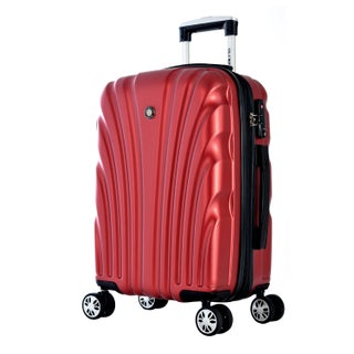 Olympia Vortex 29-inch Large Hardside Spinner Upright Suitcase (Option: Red)