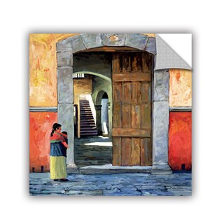 ArtAppealz Rick Kersten 'Guanajuato Door' Removable Wall Art