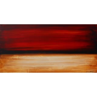 ArtAppealz Jolina Anthony 'Desertsunset' Removable Wall Art