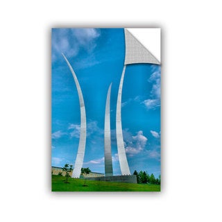 ArtAppealz Steve Ainsworth 'Air Force Memorial ' Removable Wall Art