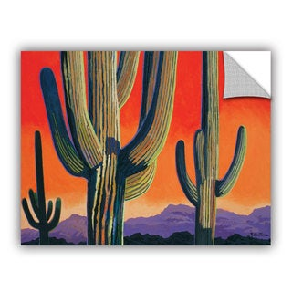 ArtAppealz Rick Kersten 'Saguaro Dawn' Removable Wall Art