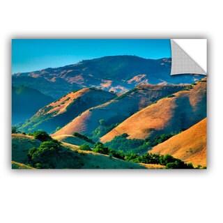 ArtAppealz Steve Ainsworth 'Golden Hills' Removable Wall Art
