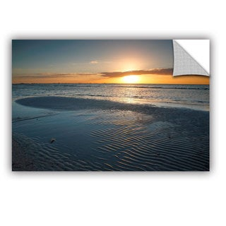 ArtAppealz Steve Ainsworth 'Sanibel Sunrise Ii' Removable Wall Art