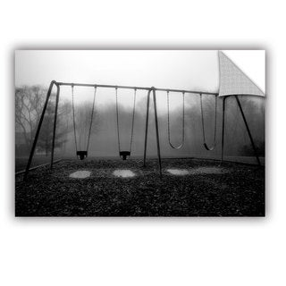 ArtAppealz Steve Ainsworth 'Silent Swing' Removable Wall Art