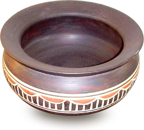 Hand-carved Ashanti Bowl (Ghana) - Thumbnail 0