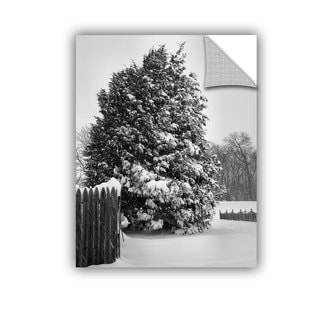 ArtAppealz Steve Ainsworth 'Winter'S Silence' Removable Wall Art