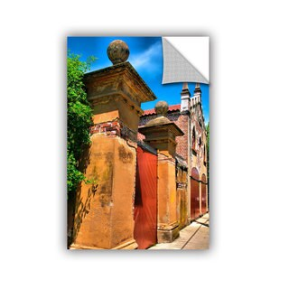 ArtAppealz Steve Ainsworth 'Meeting Street Gate 1' Removable Wall Art (4 options available)