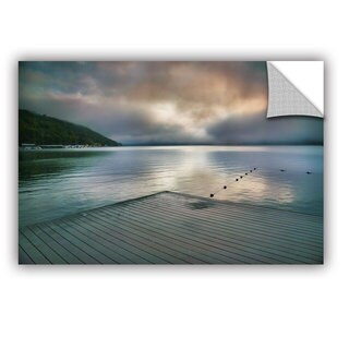 ArtAppealz Steve Ainsworth 'At Ease' Removable Wall Art