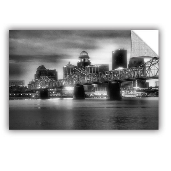 ArtAppealz Steve Ainsworth 'Gritty City' Removable Wall Art