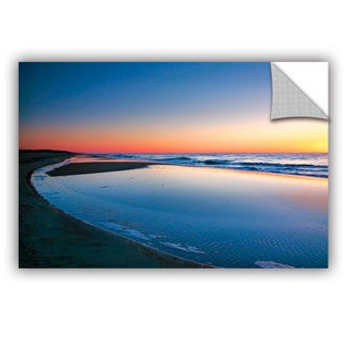ArtAppealz Steve Ainsworth 'Sea And Sand Ii' Removable Wall Art