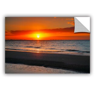 ArtAppealz Steve Ainsworth 'Sunrise Over Sanibel ' Removable Wall Art