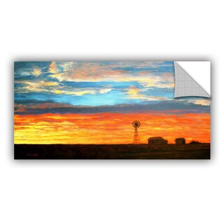 ArtAppealz Gene Foust 'Farmville' Removable Wall Art