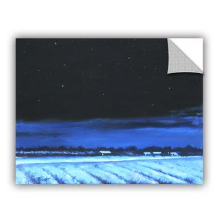 ArtAppealz Gene Foust 'Snowy Nights' Removable Wall Art