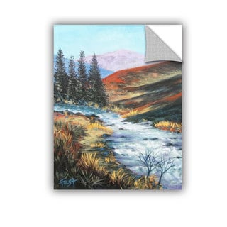 ArtAppealz Gene Foust 'Rolling Rapids' Removable Wall Art