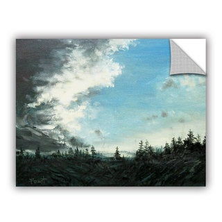 ArtAppealz Gene Foust 'Gloom' Removable Wall Art