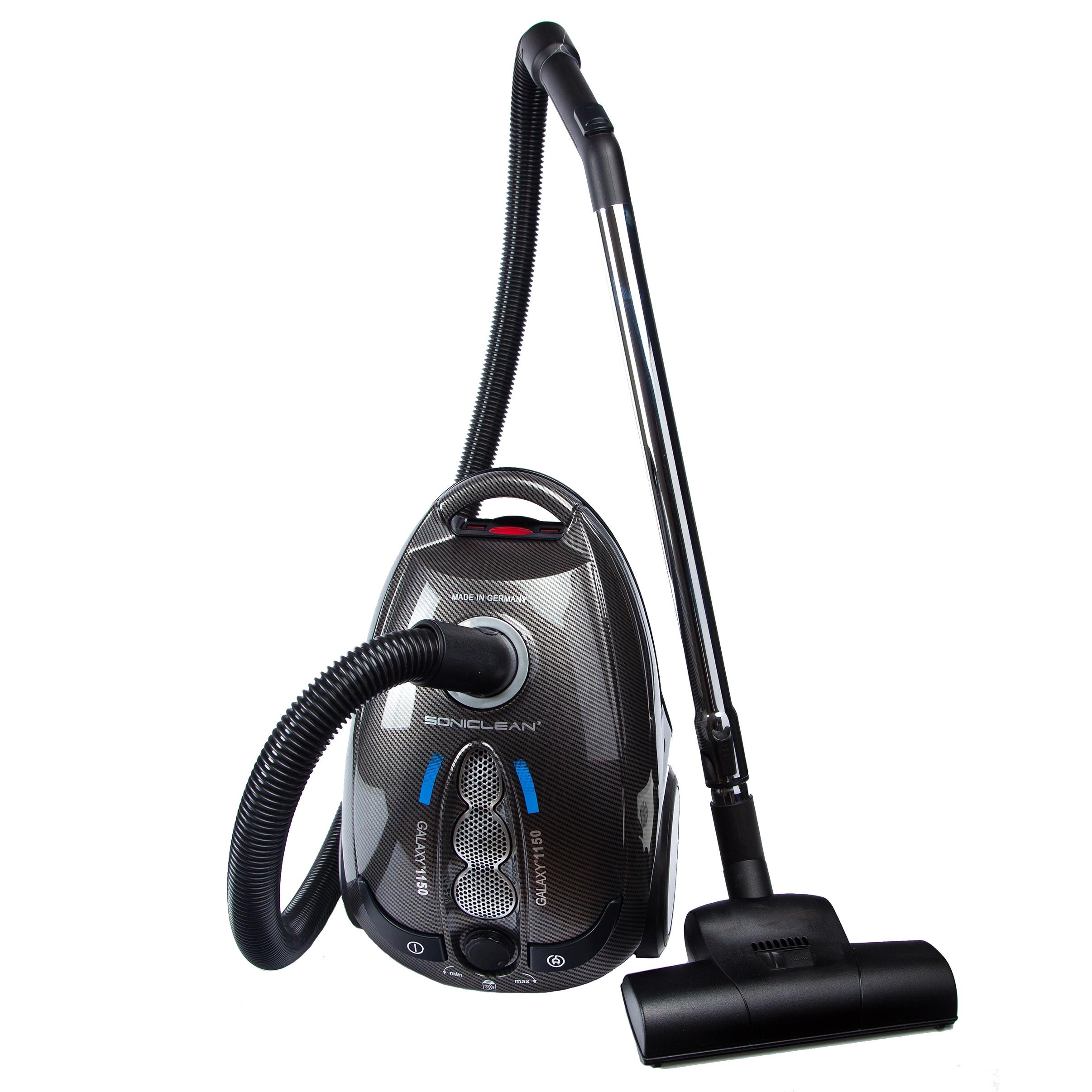 Soniclean GC-1150 Galaxy Canister Vacuum with 5 Bonus Bag...