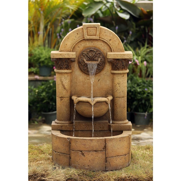 Marble Pillar Garden Wall Fountain